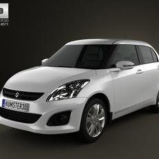 Suzuki (Maruti) Swift Dzire sedan 2012 3D Model