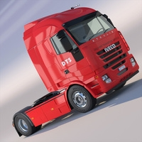 New IVECO Stralis 3D Model