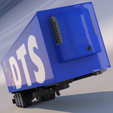 Refrigerated Trailer 3D Model