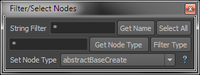 Free Filter/Select Nodes for Maya 1.1.0 (maya script)