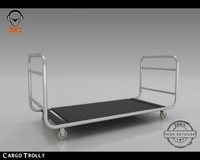 Cargo Trolly 3D Model