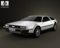 DeLorean DMC-12 1981 3D Model