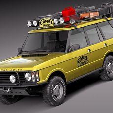 Range Rover Camel Trophy 1981-1993 3D Model
