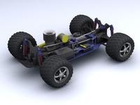 Remote Control Car 3D Model