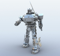 Robot 09 3D Model