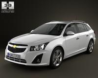Chevrolet Cruze Wagon 2012 3D Model