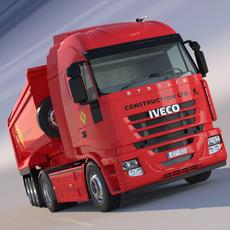 Iveco Stralis Dump Truck 3D Model