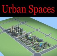 Urban Design 129 3D Model