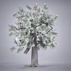 Money Tree 3D Model