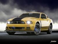 Ford Mustang Boss 2013 3D Model
