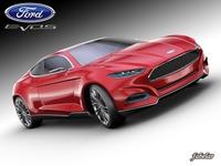 Ford Evos concept 3D Model