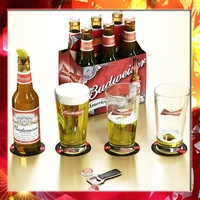Budweiser Beer Collection. 3D Model