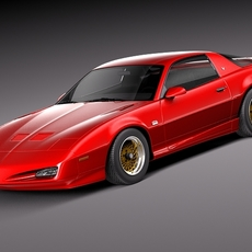 Pontiac Firebird Trans Am GTA 1991-1993 3D Model