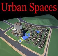 Urban Design 160 3D Model
