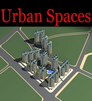 Urban Design 169 3D Model