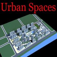 Urban Design 170 3D Model