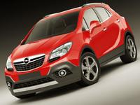 Opel Vauxhall Mokka 3D Model