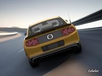 Ford Mustang Boss 2013 std mat 3D Model