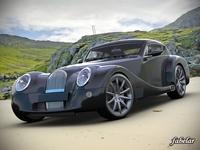 Morgan Aero Supersports 3D Model