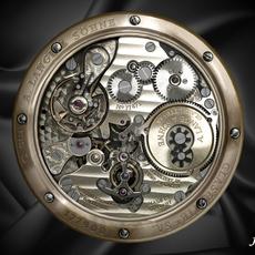 Watch mechanism 4 3D Model