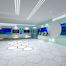 Commercial Space 003 3D Model
