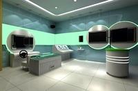 Commercial Space 008 3D Model