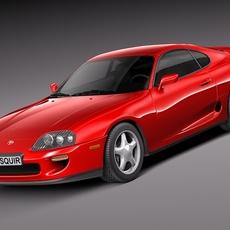 Toyota Supra 1993-2002 3D Model
