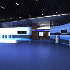 Commercial Space 022 3D Model