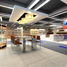 Commercial Space 026 3D Model