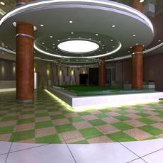 Commercial Space 037 3D Model