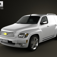 Chevrolet HHR Panel Van 2011 3D Model