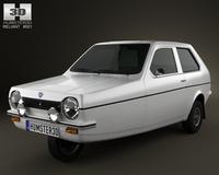 Reliant Robin 1973 3D Model