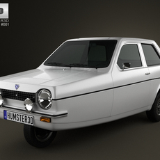 Reliant Robin 1973 3D Model