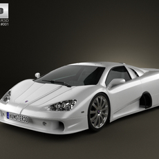 SSC Ultimate Aero 2009 3D Model