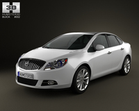 Buick Verano (Excelle GT) 2012 3D Model