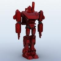 Robot 17 3D Model