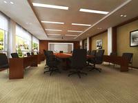 Conference Room 004 3D Model
