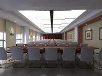 Conference Room 007 3D Model