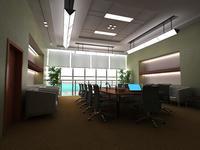 Conference Room 011 3D Model