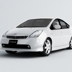 Toyota Prius Car model 3D Model