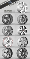Kia Ceed Rims collection  3D Model