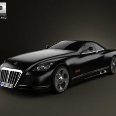 Maybach Exelero 2005 3D Model