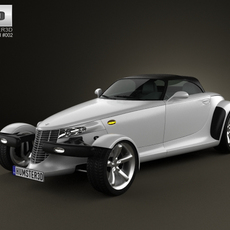 Plymouth Prowler 1999 3D Model