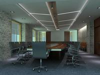 Conference Room 019 3D Model