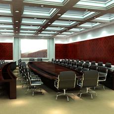 Conference Room 020 3D Model