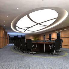 Conference Room 021 3D Model