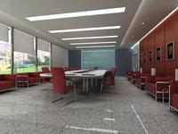 Conference Room 025 3D Model