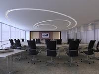 Conference Room 028 3D Model