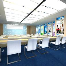 Conference Room 035 3D Model