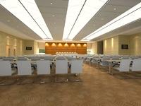Conference Room 036 3D Model